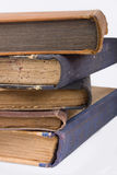 Old books on a pile Royalty Free Stock Photography