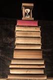 Old Books Pyramid Stock Image