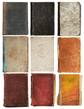 Old books set isolated Royalty Free Stock Photo