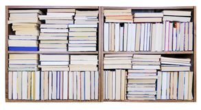 Old Books on a shelf royalty free illustration