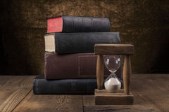 Old Books On Table Stock Image