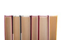 Old books on white background. Stock Image
