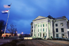 Old Boone County Courthouse in Columbia Stock Photo