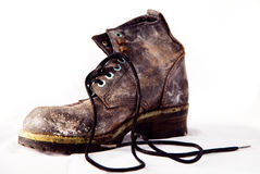 The old boot Royalty Free Stock Photos