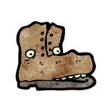Old boot cartoon character Stock Photos