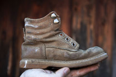 Old boot Stock Images