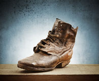 Old boot Royalty Free Stock Images