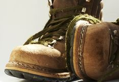 Old boots Royalty Free Stock Image