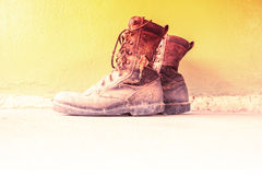 Old Boots Royalty Free Stock Photos