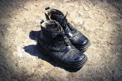 Old boots Royalty Free Stock Images