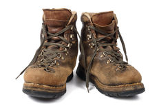 Old boots used Stock Images