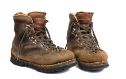 Old boots used Royalty Free Stock Photo