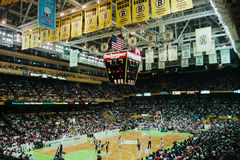 Old Boston Garden, Boston, MA. Royalty Free Stock Photos