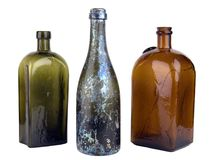 Old bottle Stock Images