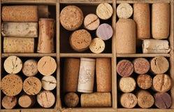 Old bottle cork Stock Images