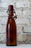 Old bottle and a glass Stock Photography