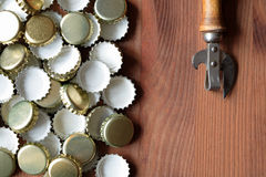 Old Bottle Opener Stock Photo