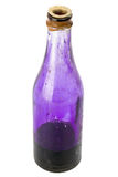Old bottle with potassium permanganate Stock Images