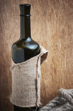 Old  bottle of wine Royalty Free Stock Photography