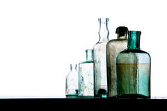 Old bottles Royalty Free Stock Image