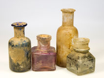 Old bottles Royalty Free Stock Photography