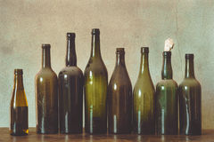 Old bottles Stock Photo