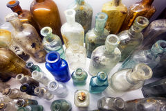 Old bottles Royalty Free Stock Images