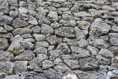 Old  Boulder Wall Royalty Free Stock Image