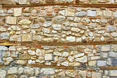 Old  Boulder Wall Stock Photos