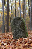 Old Boundary Stone Royalty Free Stock Images