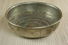 Old bowl royalty free stock photo
