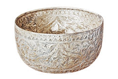 Old bowl in Thailand Asia Royalty Free Stock Image