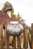 Old bowler pot Stock Photography