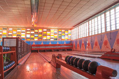 Old bowling club in asmara eritrea Royalty Free Stock Photo