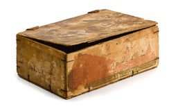 Old box Royalty Free Stock Photos
