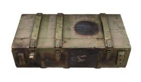 Old Box of ammunition Stock Image