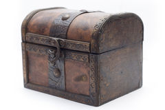 Old box for jewelry Royalty Free Stock Image