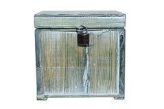 Old box locked Stock Photos