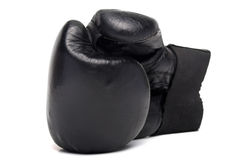 Old boxing glove Stock Photos