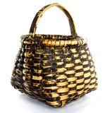 Old braided basket Royalty Free Stock Photo