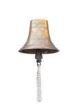 Old brass bell Royalty Free Stock Photo