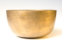 Old Brass Bowl Stock Images