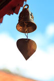 Old Brass Buddhist Bell Royalty Free Stock Photography