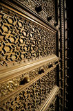 Old brass door in Jaipur India Stock Photos