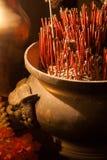 Old Brass Incense Burner Stock Images