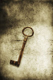 Old brass key Royalty Free Stock Photo