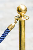 Brass pole Royalty Free Stock Photo