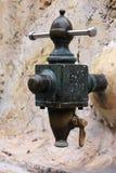 Old brass spigoot. Royalty Free Stock Image