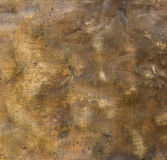Old brass texture. Brass plate texture, old metal background stock illustration