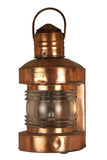 Old brassy lantern Royalty Free Stock Photos